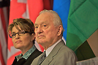 Technology Conference, Anchorage, Alaska, October, 2007, Governor Sarah Palin and former Governor, Walter Hickel