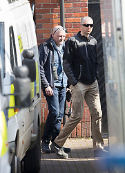 © Licensed to London News Pictures. 21/03/2018. Salisbury, UK. Investigators from the Organisation for the Prohibition of Chemical Weapons (OPCW) arrive at The Mill pub in Salisbury as police continue their investigation after former Russian spy Sergei Skripal was taken after he and his daughter Yulia were poisoned with nerve agent. The couple where found unconscious on bench in Salisbury shopping centre. A policeman who went to their aid is currently recovering in hospital. Photo credit: Peter Macdiarmid/LNP