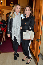 ARLENE PHILLIPS and her daughter ALANA arriving at Swan Lake at The Royal Albert Hall, London on 2nd June 2016.