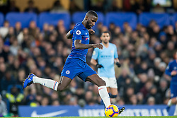 December 8, 2018 - London, Greater London, England - Antonio Rüdiger of Chelsea during the Premier League match between Chelsea and Manchester City at Stamford Bridge, London, England on 8 December 2018. (Credit Image: © AFP7 via ZUMA Wire)
