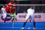 18 BEL vs NED : Jeroen Hertzberger scores the first goal
