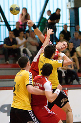 Ales Smejc at handball match of MIK 1st Men league between RD Slovan and RK Gorenje Velenje, on May 16, 2009, in Arena Kodeljevo, Ljubljana, Slovenia. Gorenje won 27:26. (Photo by Vid Ponikvar / Sportida)