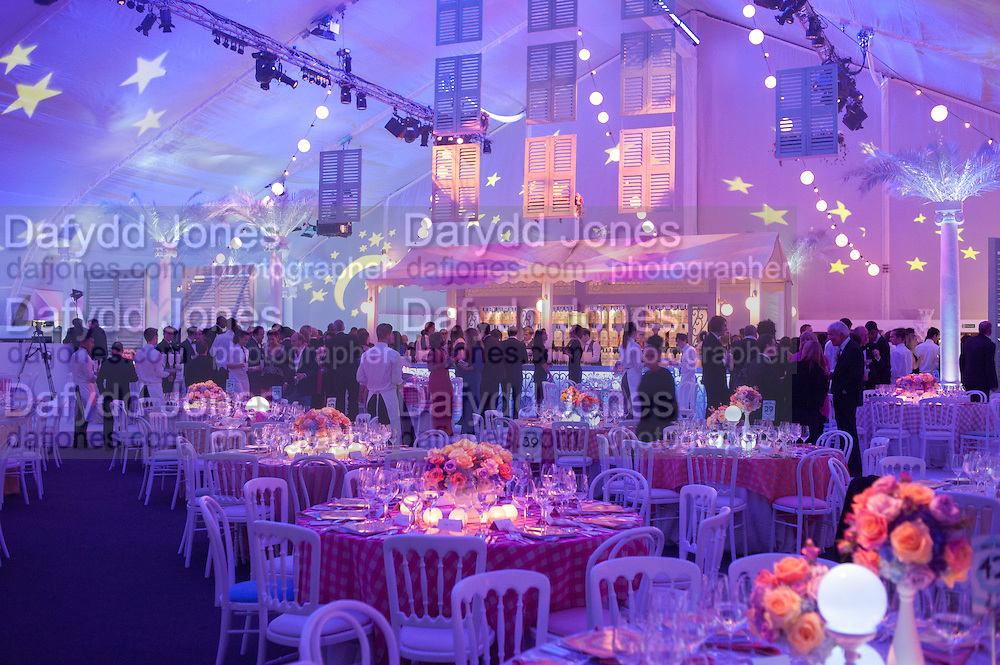 Grey Goose Winter Ball to benefit the Elton John Aids Foundation. Battersea Power Station. London. 10 November 2012.