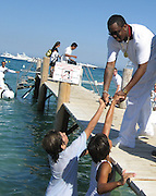 **EXCLUSIVE**.P. Diddy at Club 55 Restaurant in St. Tropez, France..Thursday, July 26, 2007.Photo By Celebrityvibe.com.To license this image please call (212) 410 5354; or.Email: celebrityvibe@gmail.com ;.