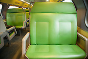 empty seats on a train Holland