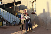 Frans received R6000 compensation for 10 hectares of land and now supports his family on a pension.<br /> <br /> Sekururwe is small community in Limpopo. They lost most of their agricultural land in 2005 when it was leased to a platinum mine. These photographs were taken as the community fought to get further compensation from the mine. They believe they were not fully involved in the consultation process or made aware of the affects the mine would bring to the economy of the village, their way of life, their ancestral graves and underground water.<br /> <br /> As a result of negotiations initiated by the Legal Resources Centre the mine made a substantial offer for financial compensation in 2011. South African law stipulates that consent must be gained before mining on communal land yet it is unclear how and whom this consent is gained from.<br /> <br /> &copy;Zute &amp; Demelza Lightfoot / Legal Resources Centre