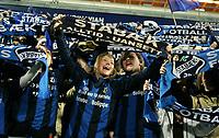 Fotball , 26. oktober 2008 , Tippeligaen , Eliteserien , Stabæk - Vålerenga 4-2<br /> <br /> Stabæk seriemester 2008<br /> illustrasjon , fan , fans , publikum , skjerf , supporter , supportere