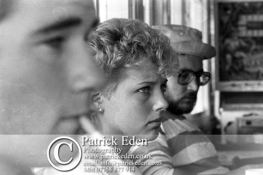 Tony Egerton, Sue Hiscock, Bill Reid