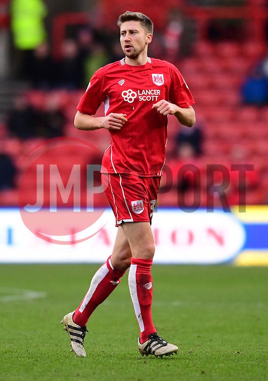Jens Hegeler of Bristol City  - Mandatory by-line: Joe Meredith/JMP - 04/02/2017 - FOOTBALL - Ashton Gate - Bristol, England - Bristol City v Rotherham United - Sky Bet Championship