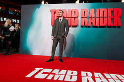 Michael Fassbender attends the Tomb Raider European Premiere at the Vue West End, London.  Picture date: Tuesday 6th March 2018.  Photo credit should read:  David Jensen/ EMPICS Entertainment