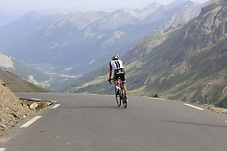Laurens Ten Dam (NED) Team Sunweb descends the Col du Galibier during Stage 4 of the 104th edition of the Tour de France 2017, running 183km from La Mure to Serre Chevalier, France. 19th July 2017.<br /> Picture: Eoin Clarke | Cyclefile<br /> <br /> All photos usage must carry mandatory copyright credit (&copy; Cyclefile | Eoin Clarke)