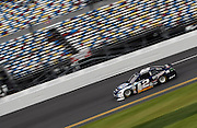 Feb 20, 2013; Daytona Beach, FL, USA; NASCAR Sprint Cup Series driver Brad Keselowski (2) during practice for the Daytona 500 at Daytona International Speedway.