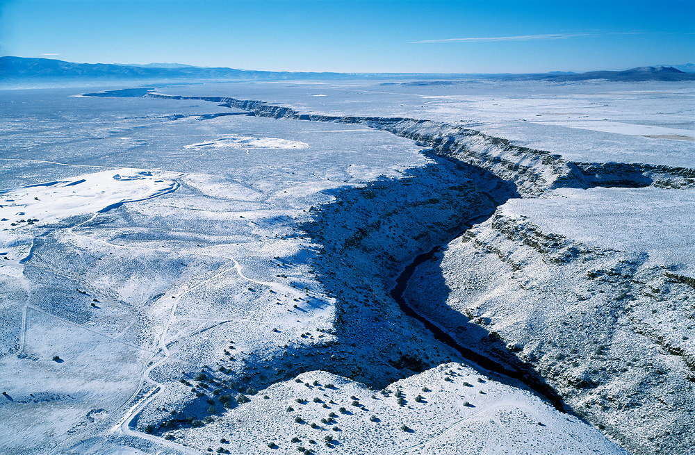 Rio Grande Gorge in Snow