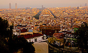 Barcelona, Spain, view from Park Guell