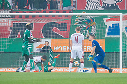 14.07.2019, Allianz Stadion, Wien, AUT, Testspiel, SK Rapid Wien vs 1. FC Nuernberg, im Bild Christoph Knasmuellner (SK Rapid Wien) zum 1:2 // Christoph Knasmuellner (SK Rapid Wien) scores the 1:2 during a test match for the upcoming Season between SK Rapid Wien and 1. FC Nuernberg at the Allianz Stadion in Wien, Austria on 2019/07/14. EXPA Pictures © 2019, PhotoCredit: EXPA/ Florian Schroetter