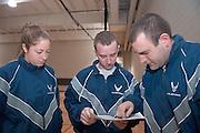 17938Air Force ROTC Warrior Run..Cadet Simmons, Cadet Neil, Cadet Groh