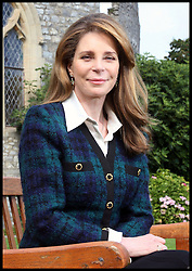 Her Majesty Queen Noor of Jordan on a visit to UWC Atlantic College in South Wales, Wednesday September 19, 2012. Photo By Mike Hall / i-Images.