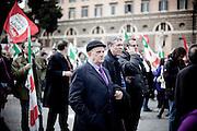 ROMA. CITTADINI IN PIAZZA DEL POPOLO PER PROTESTARE CONTRO IL DECRETO SALVA LISTE DEL GOVERNO BERLUSCONI PER LE ELEZIONI REGIONALI 2010
