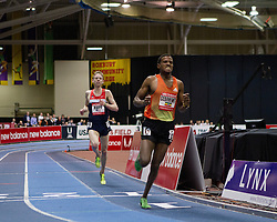 New Balance Indoor Grand Prix track meet: Gebrhiwet, Ethiopia, wins men's 3000 meters over Galen Rupp