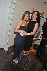 Left to right, RACHEL STEVENS and CHLOE BAYRAM at The Great Initiative event in association with jewellers Boodles held at The Corinthia Hotel, London on 6th November 2012.