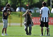 Arta Terme (UD), 27/07/2011.Campionato di calcio Serie A 2011/2012.Paulo Vitor De Sousa Barreto posa con la nuova maglia per il fotografo delle Figurine Panini..© foto di Simone Ferraro