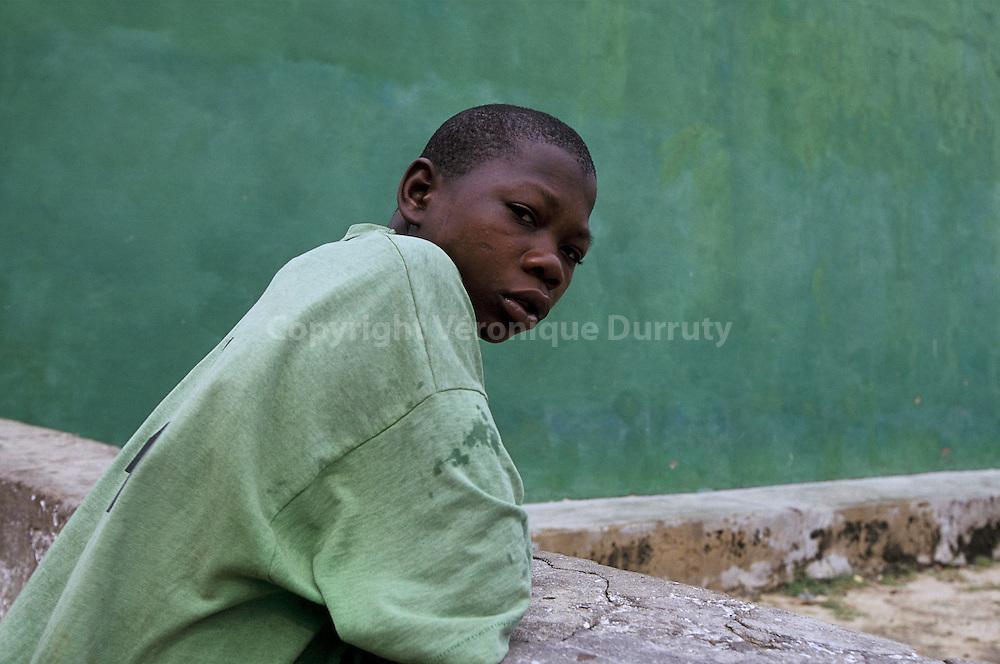PORTRAIT D'ADOLESCENT, ILE DU MOZAMBIQUE