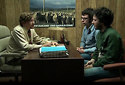 """Sheep images used in HBO Series Flight of the Conchords. Photograph on wall of Murray Hewitt's office taken by Dave Walsh<br /> """"New Zealand: Ewe Should Come"""", episode #16 (Series 2, episode 6) """"Love Is A Weapon Of Choice"""""""