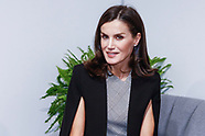 121119 Queen Letizia attend a conference at the COP25