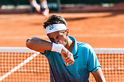 Serhiy Stakhovsky (ukr) during the Roland Garros French Tennis Open 2018, Preview, on May 21 to 26, 2018, at the Roland Garros Stadium in Paris, France - Photo Pierre Charlier / ProSportsImages / DPPI