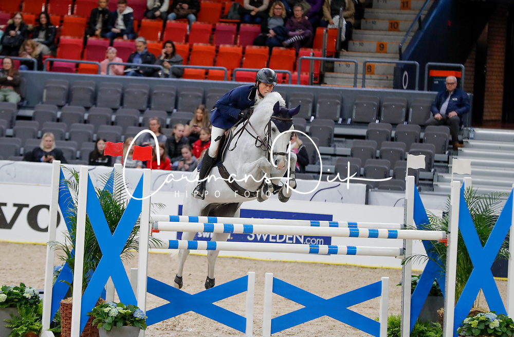 Fuchs Martin, SUI, Clooney 51<br /> Training<br /> Longines FEI World Cup Finals Jumping Gothenburg 2019