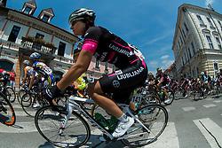Anja Rugelj (SLO) of BTC City Ljubljana during the Stage 1 (102,5 km) from Kamnik to Ljubljana at 26th Giro Rosa 2015 Women cycling race, on July 4, 2015 in Kamnik,  Slovenia. Photo by Vid Ponikvar / Sportida