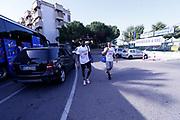 Awudu Abass, Stefano Tonut<br /> Raduno Nazionale Maschile Senior<br /> Allenamento mattina, sala pesi<br /> Cagliari, 02/08/2017<br /> Foto Ciamillo-Castoria/ M. Brondi