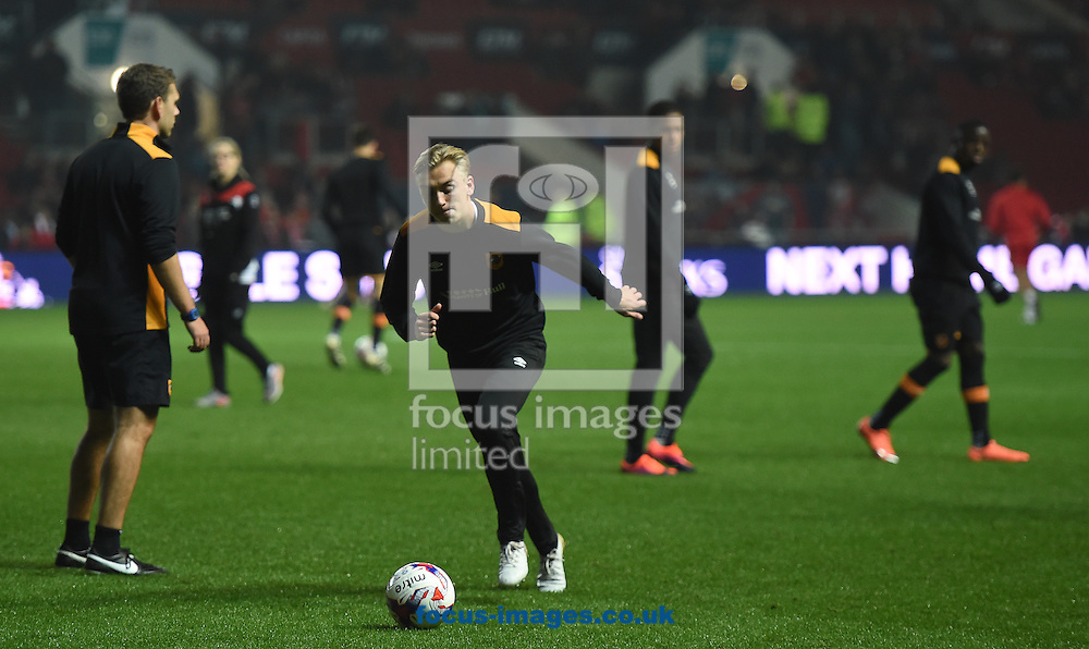 Jarod Bowen of Hull City Tigers during the EFL Cup match at Ashton Gate, Bristol<br /> Picture by Daniel Hambury/Focus Images Ltd +44 7813 022858<br /> 25/10/2016