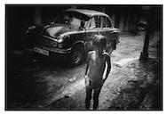 Drainspout Shower, Calcutta.