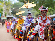 Novitation Ceremony and Celebration, Magway, Myanmar
