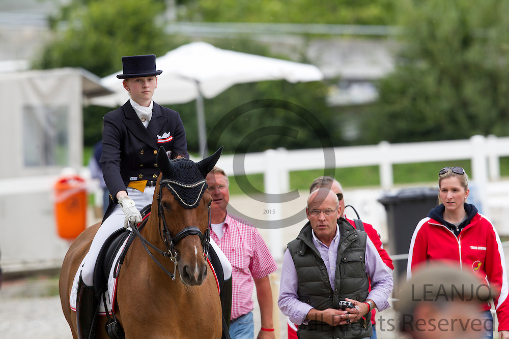 Lea Elisabeth Pointinger - Gino 333<br /> FEI European Championships Dressage Juniors and Young Riders 2012<br /> © DigiShots