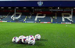 Mitre Footballs at Loftus Road - Mandatory byline: Robbie Stephenson/JMP - 07966386802 - 16/09/2015 - FOOTBALL - Loftus Road - London,England - Queens Park Rangers v Blackburn Rovers - Sky Bet Championship