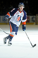 KELOWNA, CANADA, OCTOBER 29: Colin Smith #9 of the Kamloops Blazers skates on the ice Kamloops Blazers visit the Kelowna Rockets  on October 29, 2011 at Prospera Place in Kelowna, British Columbia, Canada (Photo by Marissa Baecker/Shoot the Breeze) *** Local Caption *** Colin Smith;
