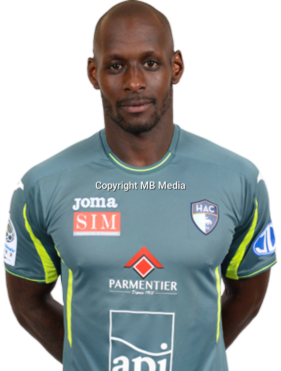 THURAM Yohann during photocall of Le Havre AC for new season of Ligue 2 on September 29th 2016<br /> Photo : Lelaidier / Hac / Icon Sport