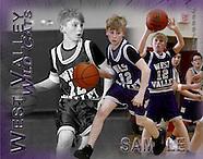 Basketball 2010 Boys 7th Grade vs West Valley