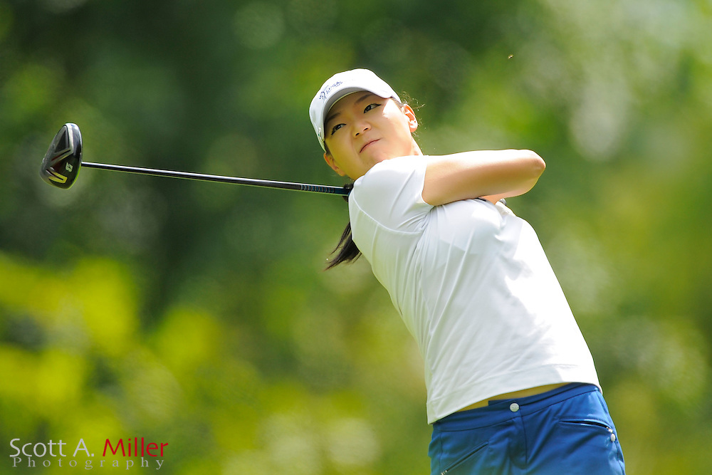Aimee Cho during the final round of the LPGA Future Tour's Price Chopper Tour Championship at Capital Hills at Albany on Sept. 11, 2011 in Albany, N.Y...©2011 Scott A. Miller
