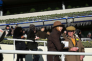Racegoers at Ascot raceday,21st November 2016.