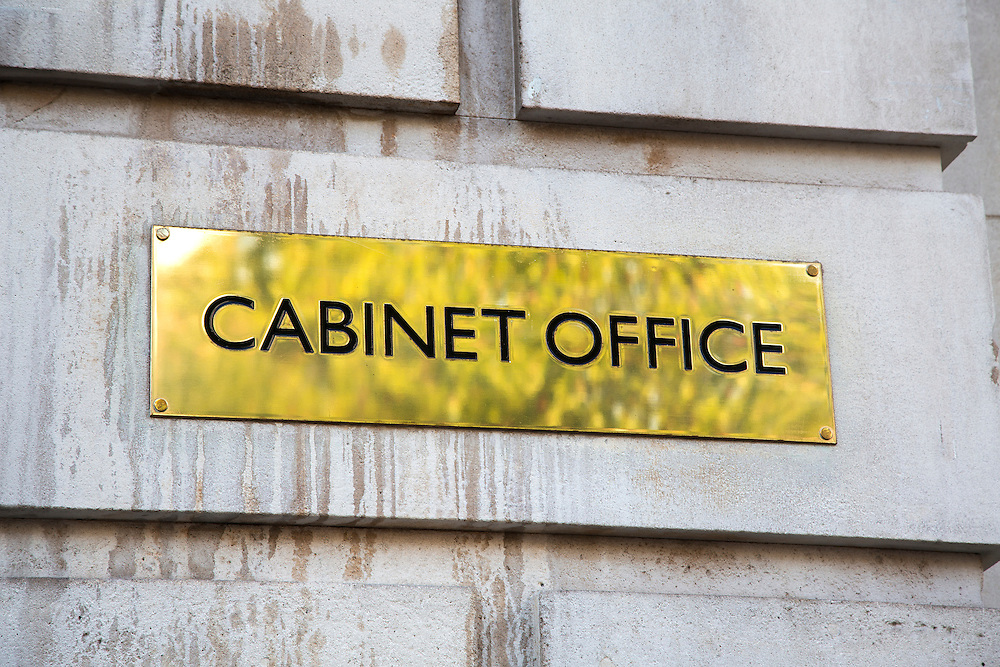 The Cabinet Office, one of the main buildings used by the British Government.
