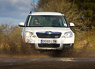 27/02/2011.. Skoda Yeti, driven by Motors Ed Phil Lanning ...Pic:Andy Barr.07974 923919  (mobile).andy_snap@mac.com.All pictures copyright Andrew Barr Photography. .Please contact before any syndication. .