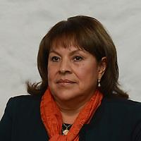 """Toluca, México.- Rosalinda Chaparro de Sampeiro, Presidenta de la A. C. Mujeres en Moviento, durante la inauguracion del ciclo de conferencias """"Mujeres Jóvenes en Movimiento, Exito y Abundancia. Agencia MVT / Arturo Hernández."""