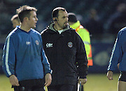 2005/06 Powergen Cup, Bath Rugby vs Gloucester Rugby, Acting chief coach, Mike Foley,[left] supervises the pre game warm up, at The Rec, on the 03.12.2005.   © Peter Spurrier/Intersport Images - email images@intersport-images..
