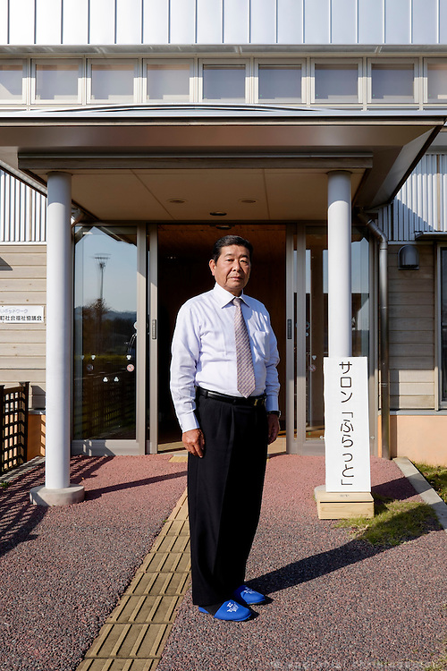 Kazuya MATSUMOTO: manager in the public welfare office.