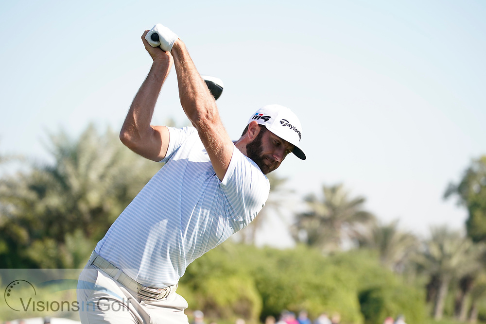 Dustin Johnson<br /> <br /> <br /> <br /> January 2018<br /> <br /> Golf Pictures Credit by: Mark Newcombe / visionsingolf.com