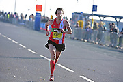 Chris Thompson (GBR) during The Great South Run in Southsea, Portsmouth, United Kingdom on 23 October 2016. Photo by Jon Bromley.