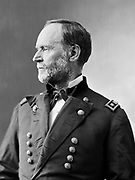William Tecumseh Sherman (1820-1891) American soldier and businessman. During the American Civil War (1861-1865) he served as a General in the Union army. Outstanding strategist who conducted total war against the Confederate States.